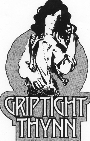 Logo for group Griptight Thynn, the forerunner of Stackridge