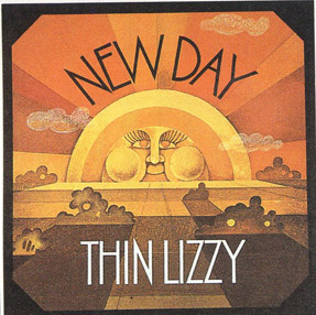 Thin Lizzy EP 1969 designed by Rodney